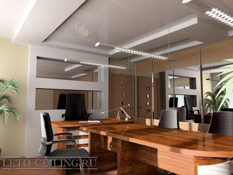 Высота потолка в офисе